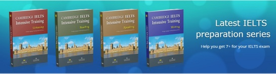 Cambridge Ielts intensive training ( speaking, reading, writing, listening)
