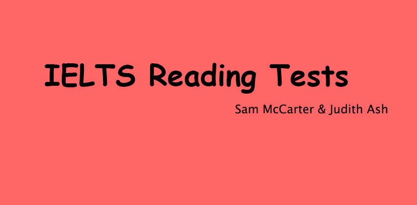 Ielts reading tests ( Mc Carter and Judith Ash)